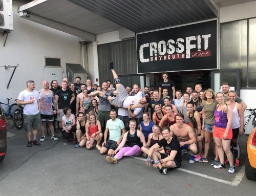 21. April 2018: Charity-WOD bei CrossFit Bayreuth